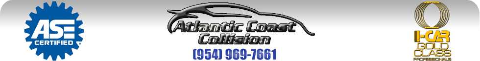 Margate auto body repair shop, Atlantic Coast Collision, Margate, Florida
